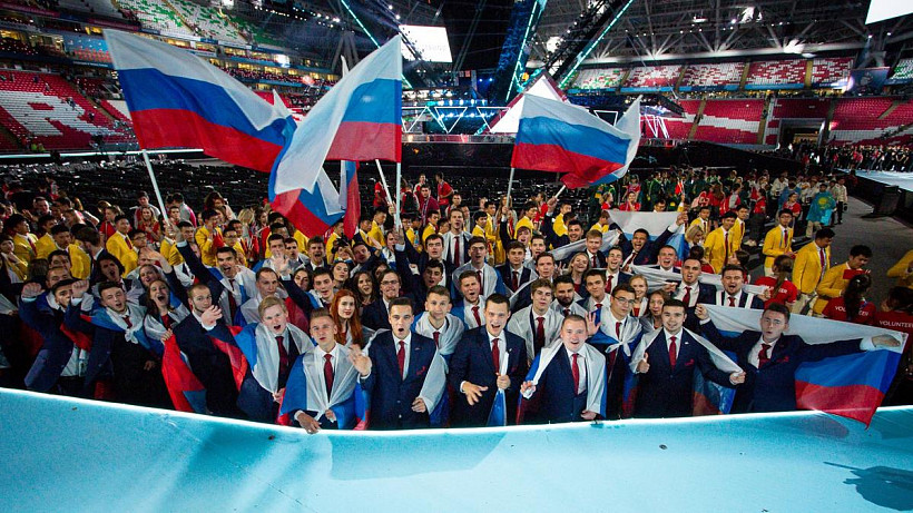 Russian national team won 22 medals at WorldSkills Kazan 2019 competition